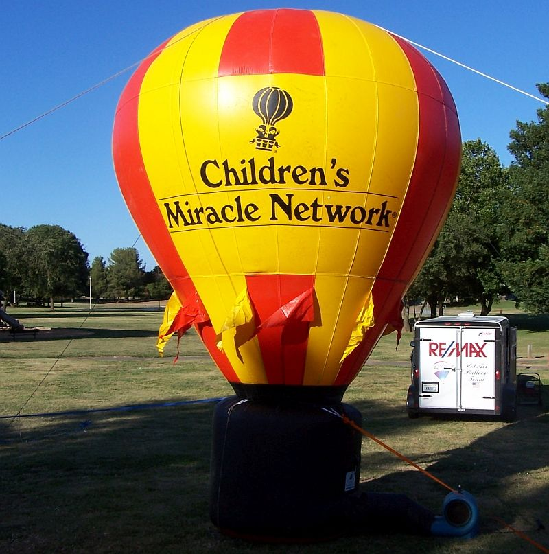 Children's Miracle Network 16 Foot Cold Air balloon