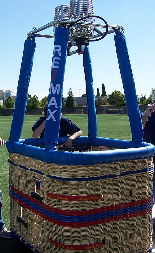 RE/MAX Hot Air Balloon Basket