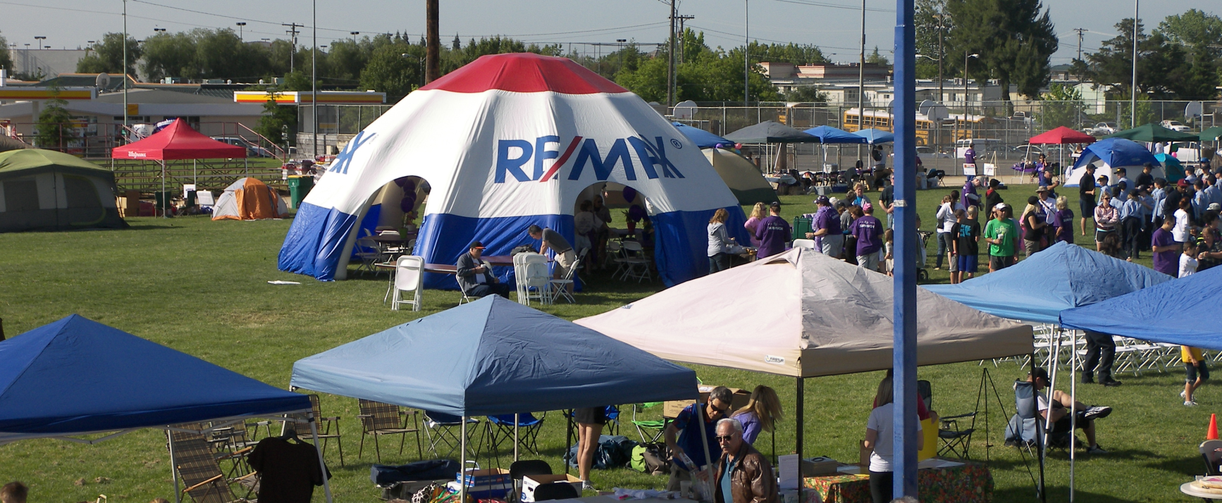RE/MAX Tent at Relay For Life