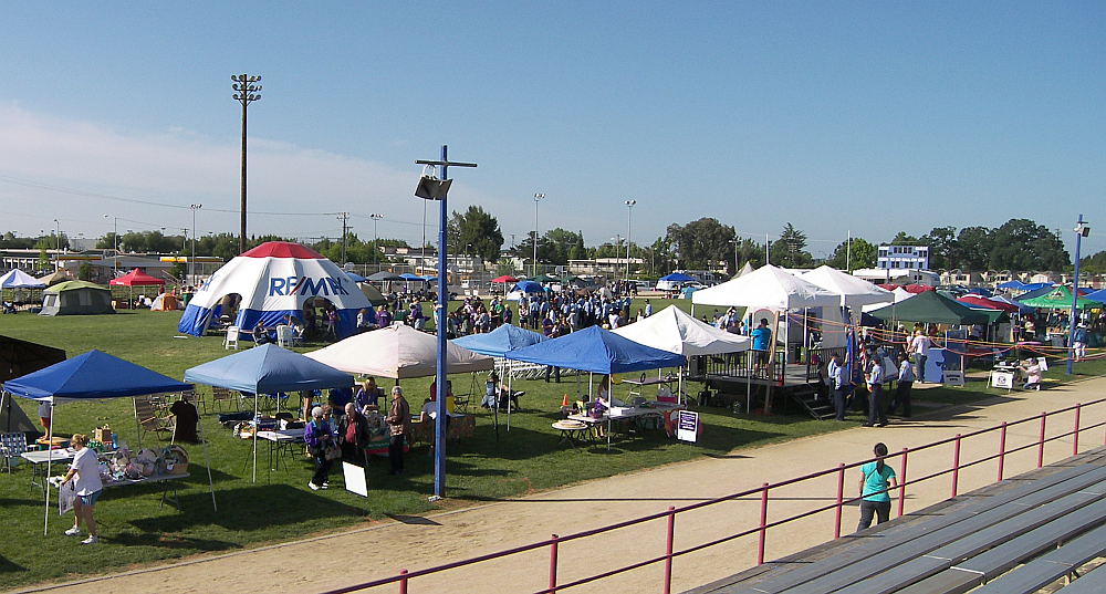 RE/MAX Inflatable Shelter at Relay For Life